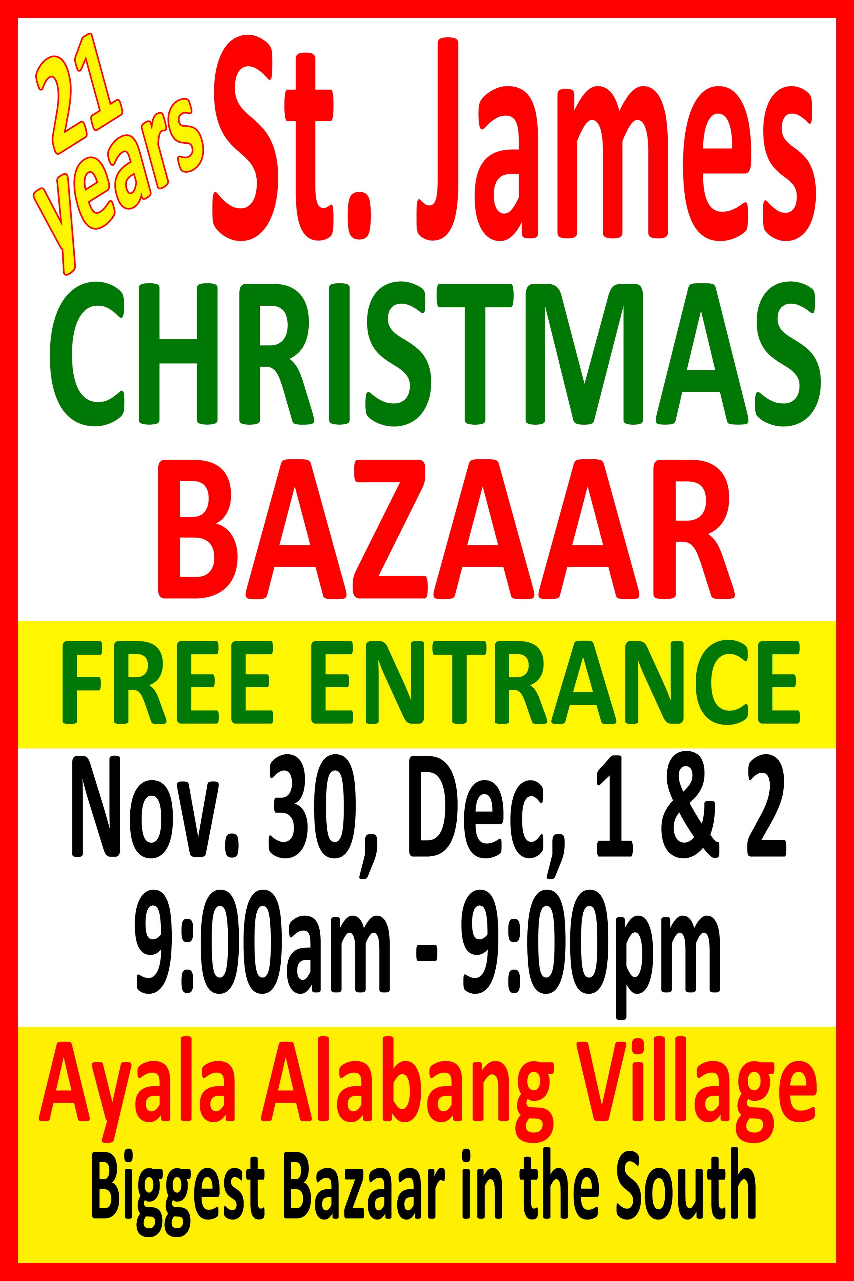 St. James Christmas Bazaar November 2012