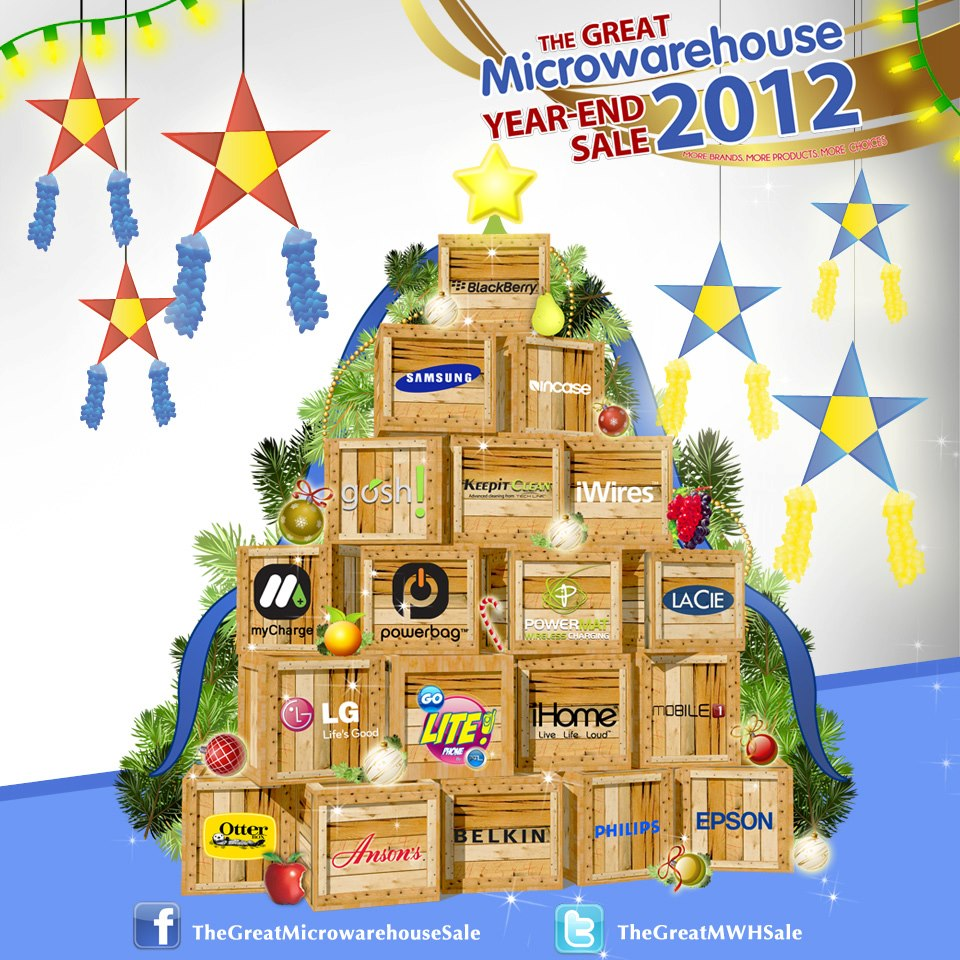 The Great Microwarehouse Sale @ Decagon Silver City December 2012