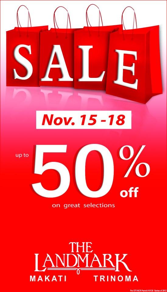 The Landmark Sale November 2012