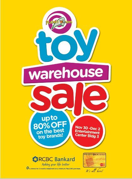 Toy Warehouse Sale @ Sta. Lucia East Grand Mall November - December 2012