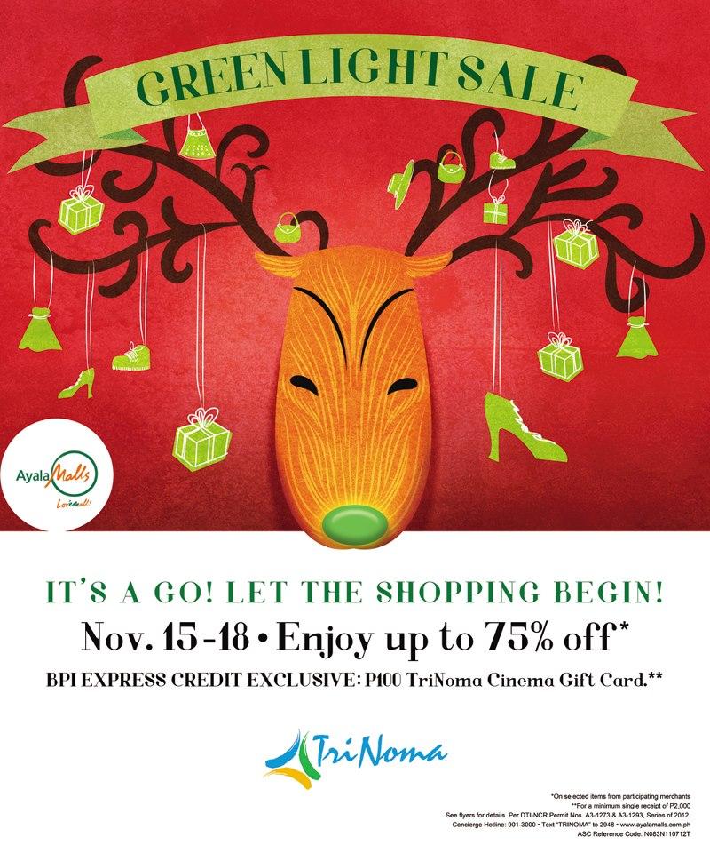 Trinoma Green Light Sale November 2012