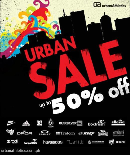 Urban Athletics Anniversary Sale November - December 2012