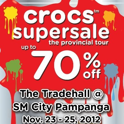 Crocs Supersale @ SM City Pampanga November 2012