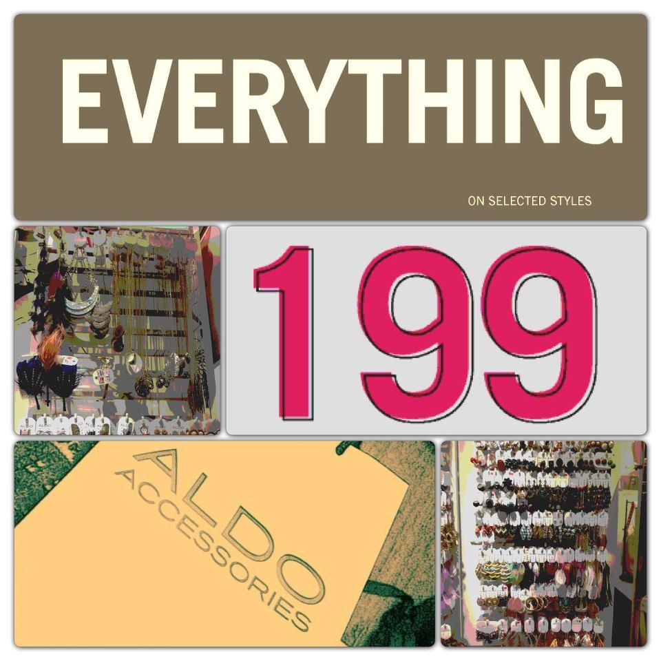 Aldo Accessories Sale December 2012