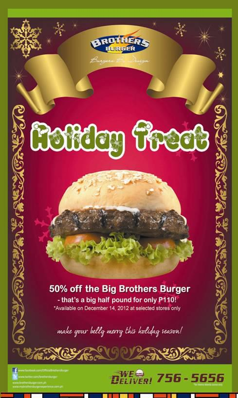 Brothers Burger Holiday Treat December 2012