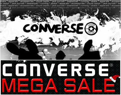 Converse Mega Sale @ SM Megatrade Hall December 2012