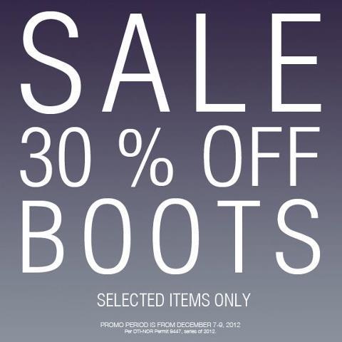 Forever 21 Boots Sale December 2012