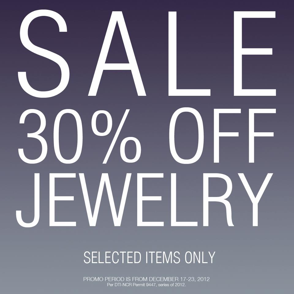 Forever 21 Jewelry Sale December 2012