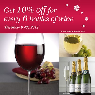 Marks & Spencer Wine Sale December 2012