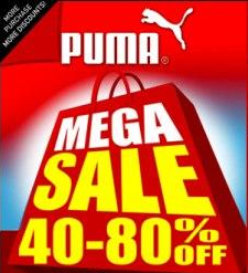 Puma Mega Sale @ SM Megatrade Hall December 2012