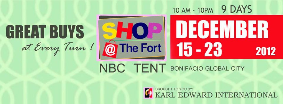 Shop @ The Fort December 2012
