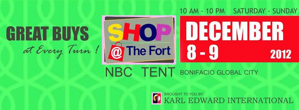 Shop @ The Fort December 2012