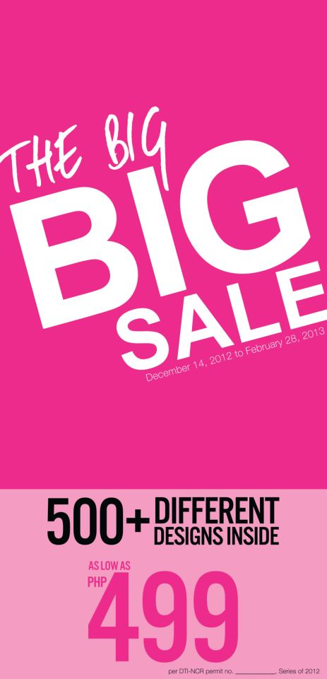 So! Fab Shoes The Big Sale December 2012 - February 2013