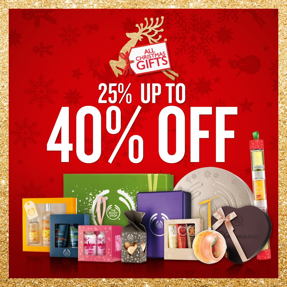 The Body Shop Christmas Gifts Sale December 2012
