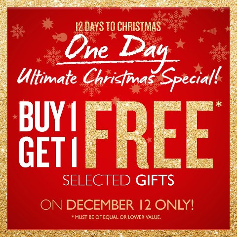 The Body Shop Ultimate Christmas Special December 2012