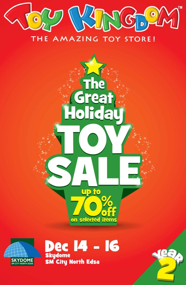 Toy Kingdom's The Great Holiday Toy Sale December 2012
