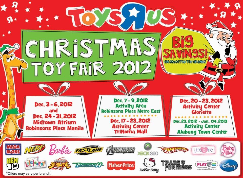 Toys R Us Christmas Toy Fair December 2012