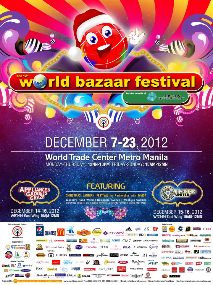 World Bazaar Festival @ World Trade Center December 2012