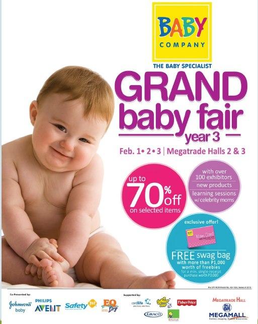 Baby Company Grand Baby Fair @ SM Megatrade Hall February 2013