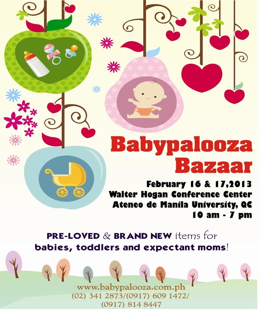 Babypalooza Bazaar @ Ateneo De Manila University February 2013