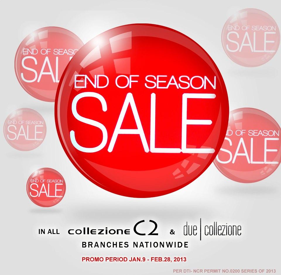 Collezione C2 End of Season Sale January - February 2013