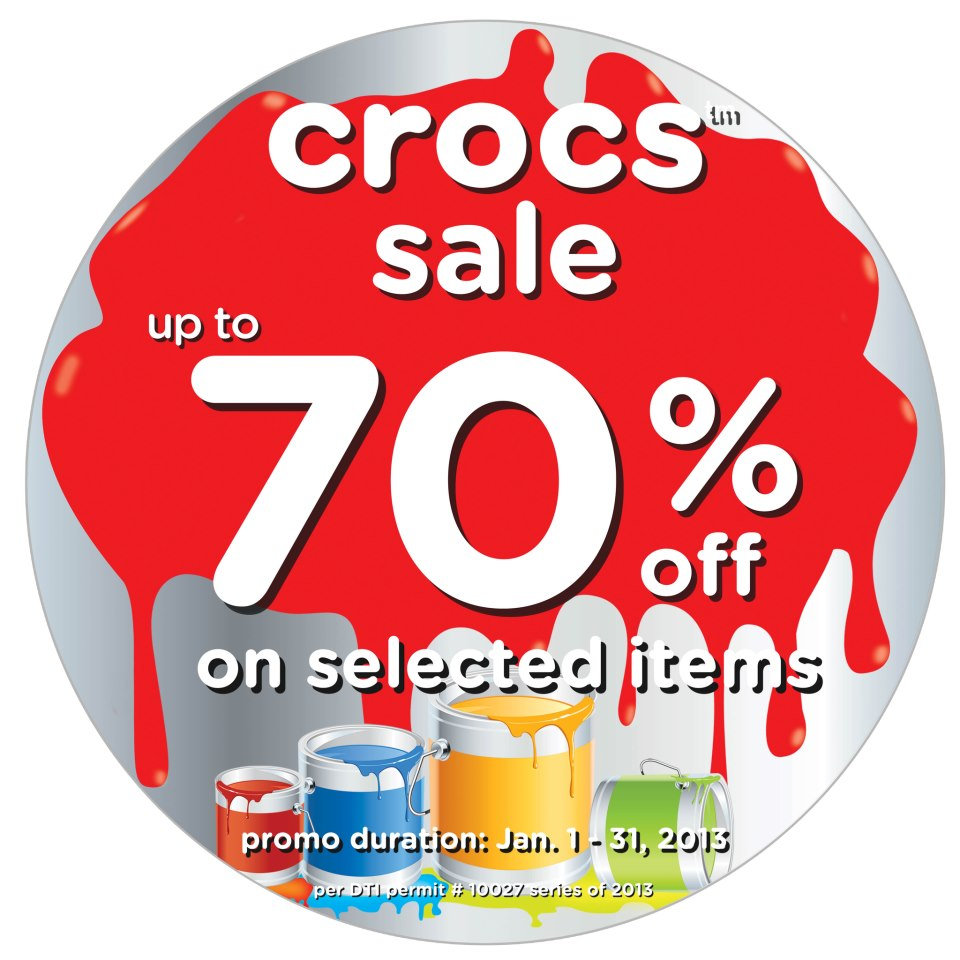 Crocs Sale January 2013