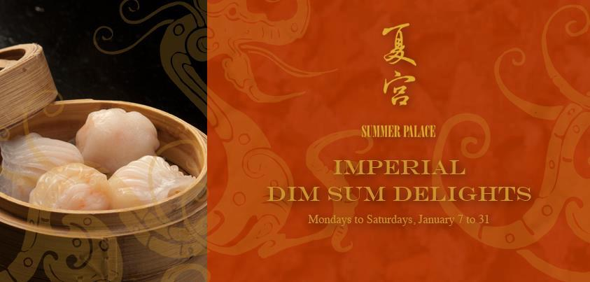 Imperial Dim Sum Delights @ Summer Palace, Edsa Shangri-La Hotel January 2013