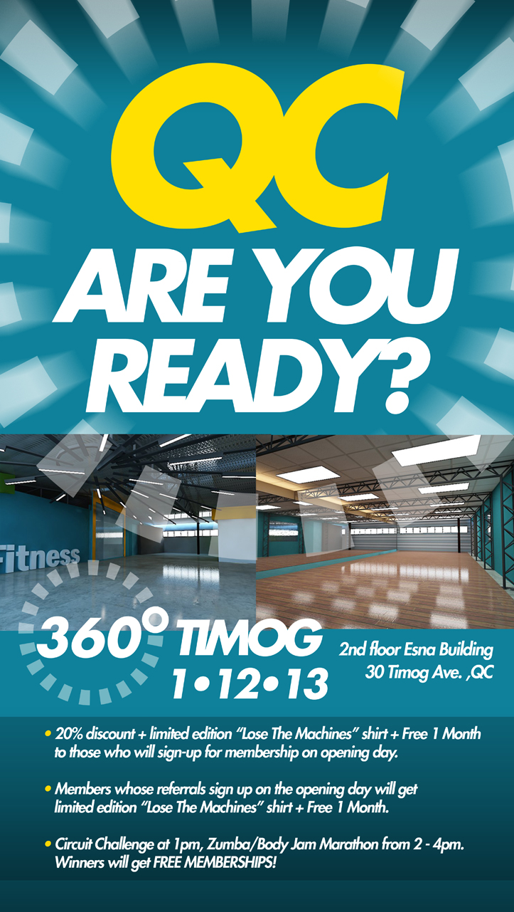 360 Fitness Opening Day Promo January 2013