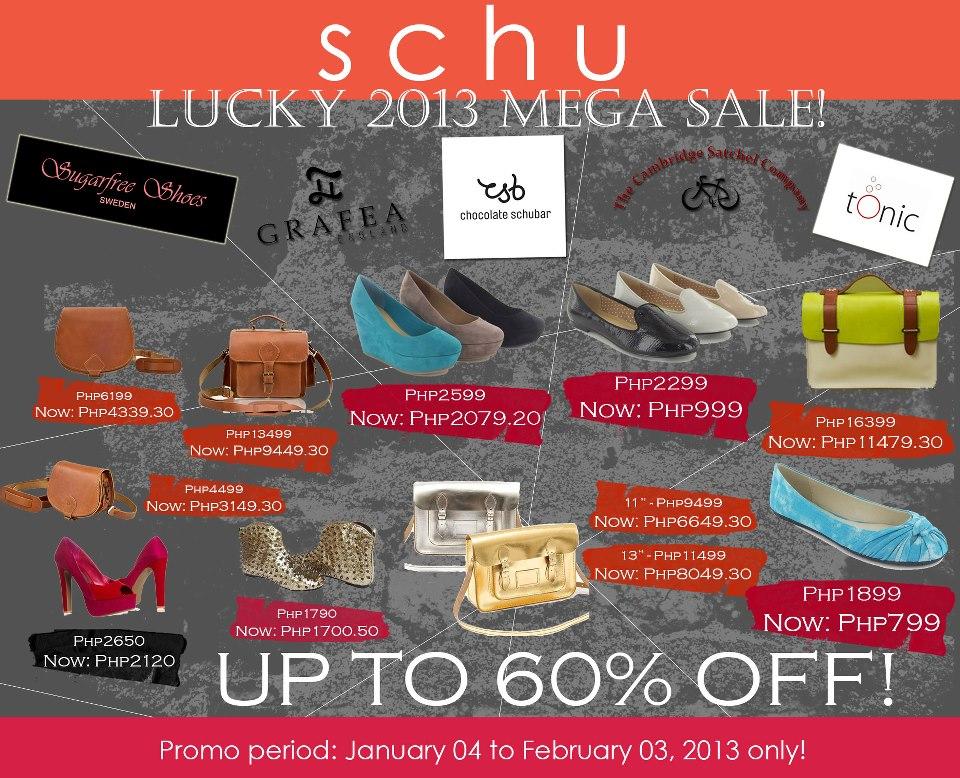 Schu Sale January  - February 2013