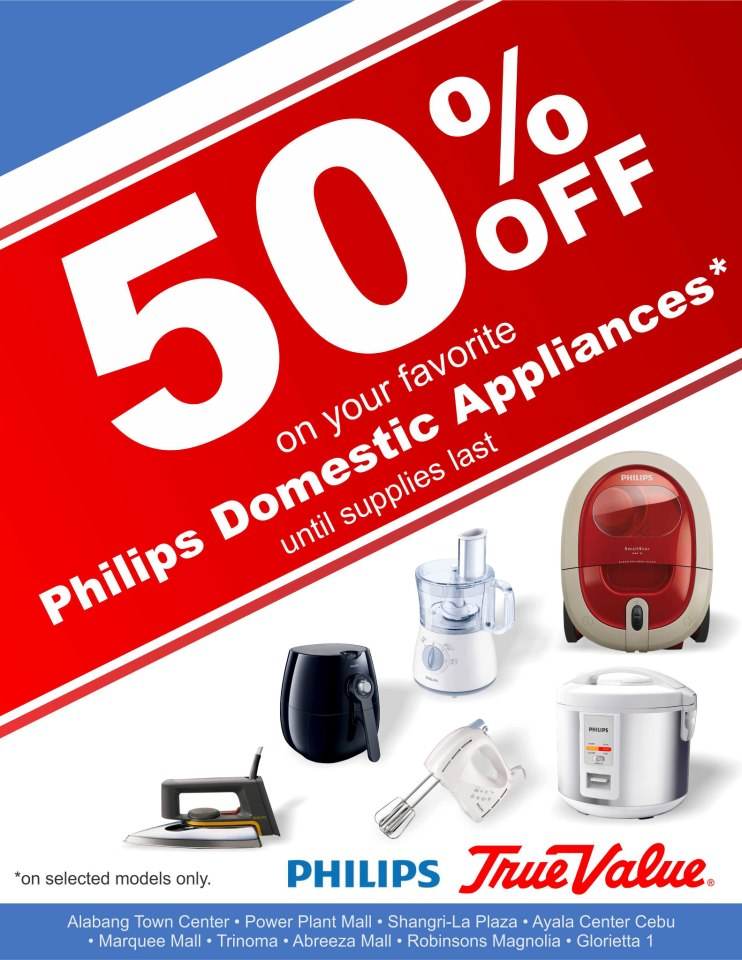 True Value Sale (Philips Domestic Appliances) January 2013