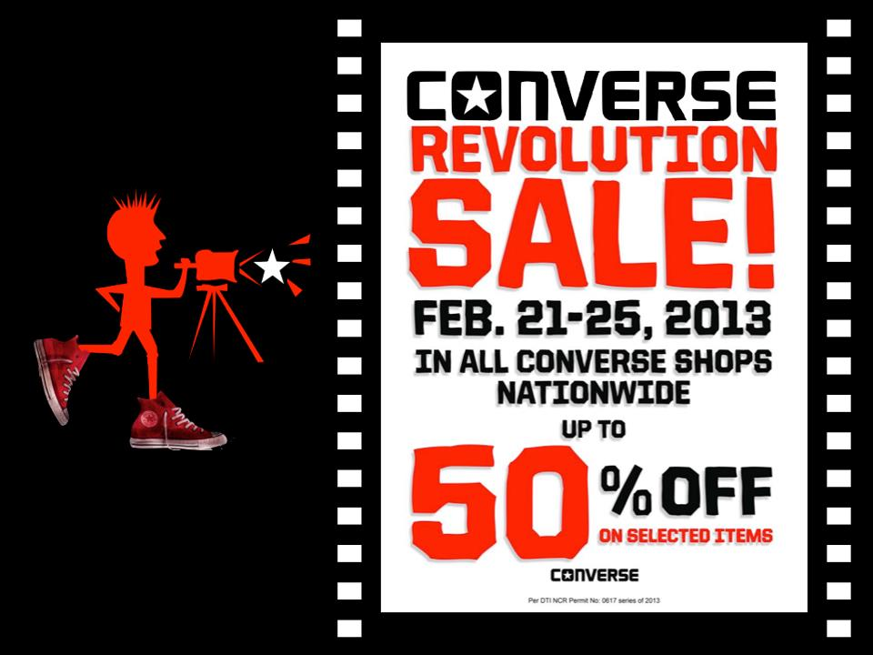 Converse Revolution Sale February 2013