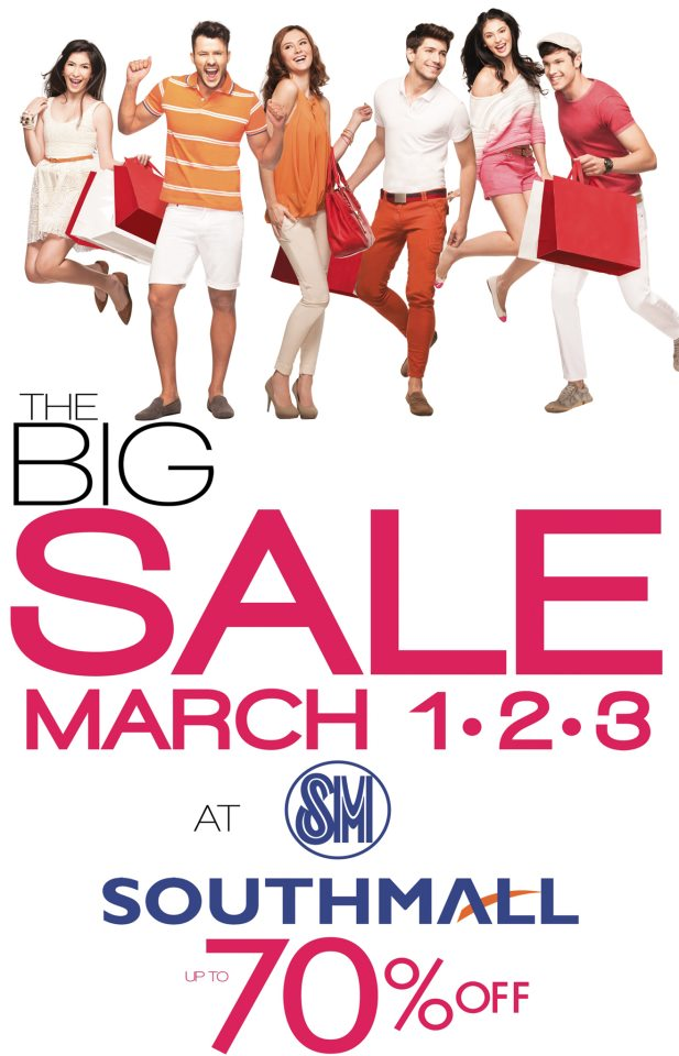 SM Southmall The Big Sale March 2013