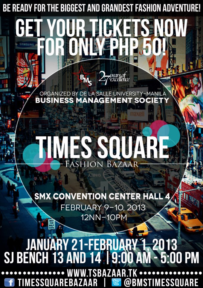 Times Square Fashion Bazaar @ SMX Convention Center February 2013_2