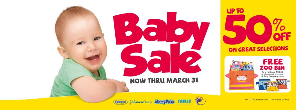Baby Company Sale March 2013