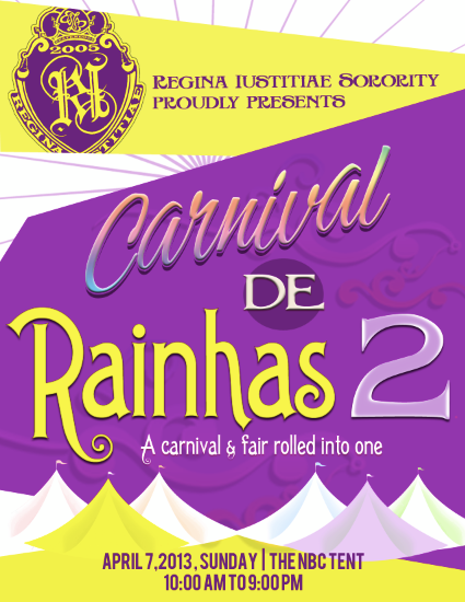 Carnival de Rainhas 2 @ The NBC Tent April 2013
