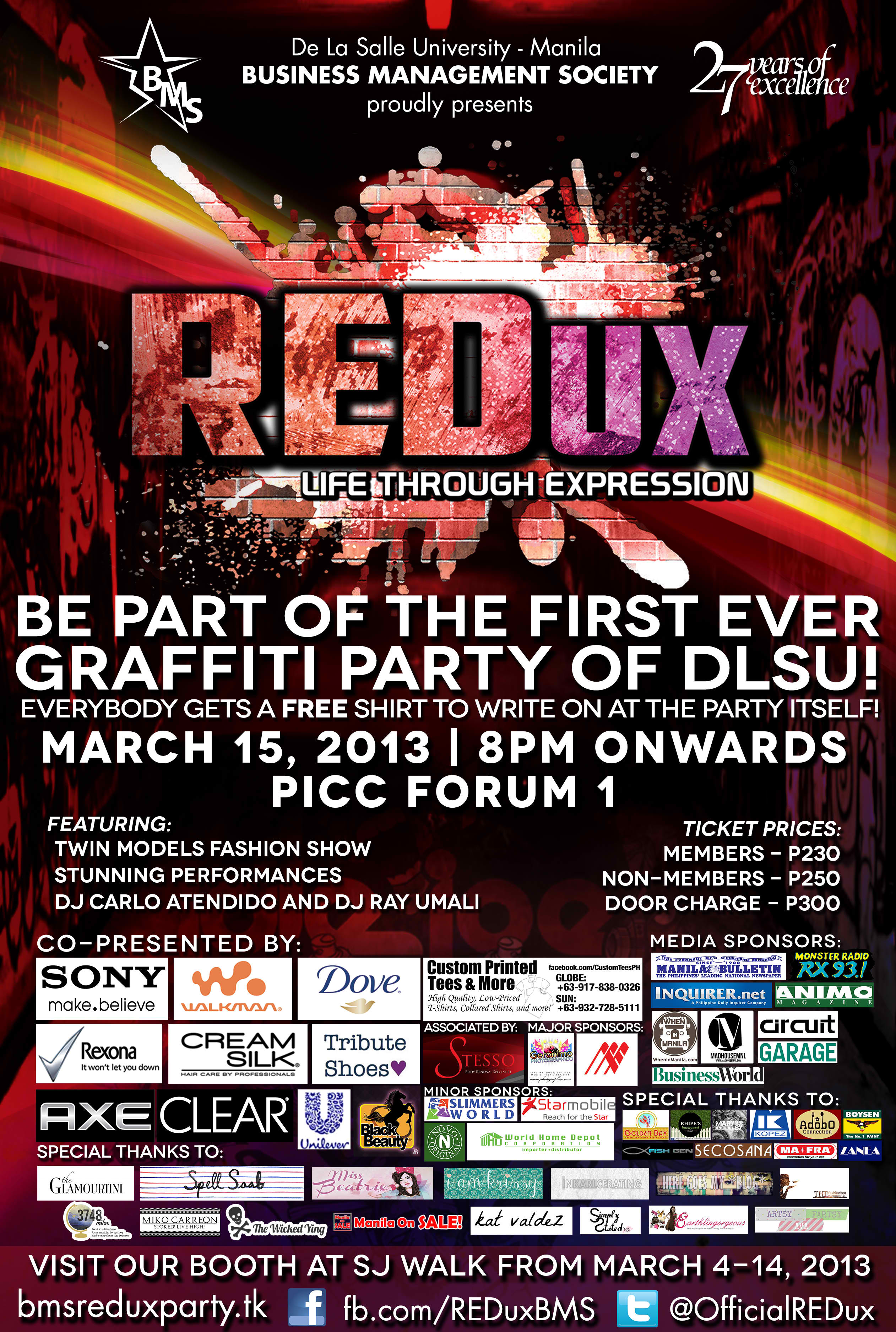 REDux Year End Party @ PICC March 2013