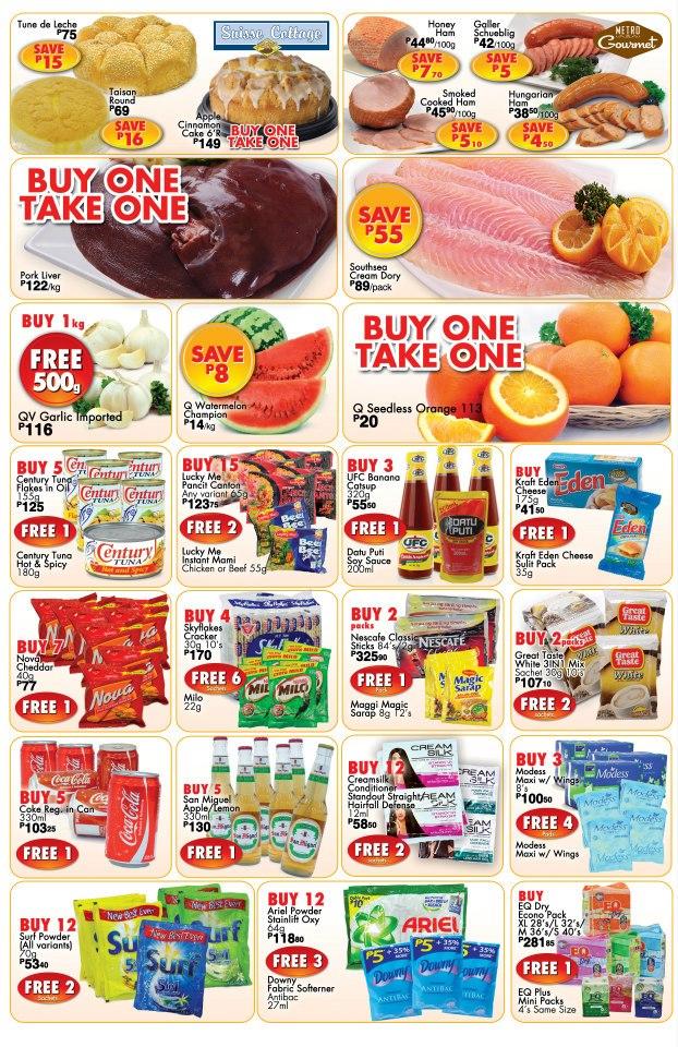 Metro Department Store & Supermarket 3-Day Sidewalk Sale