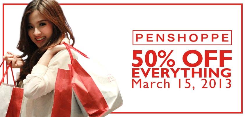 Penshoppe Sale March 2013
