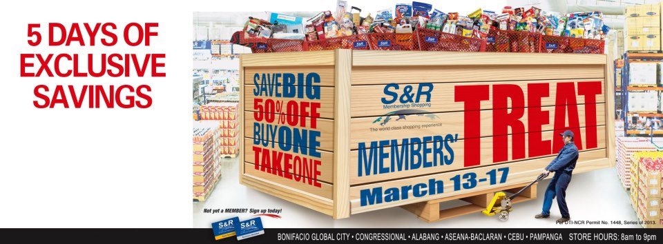 S&R Members Treat March 2013
