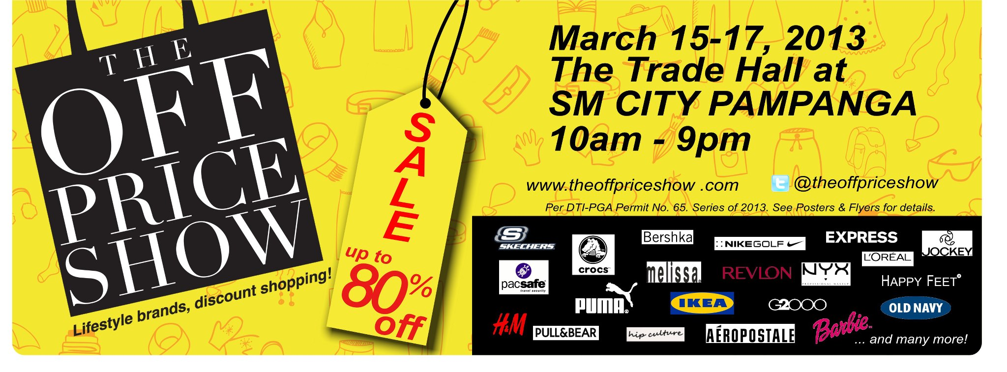 The Off Price Show at SM City Pampanga March 2013