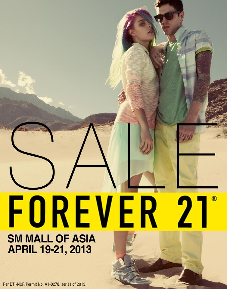 Forever 21 Sale @ SM Mall of Asia April 2013