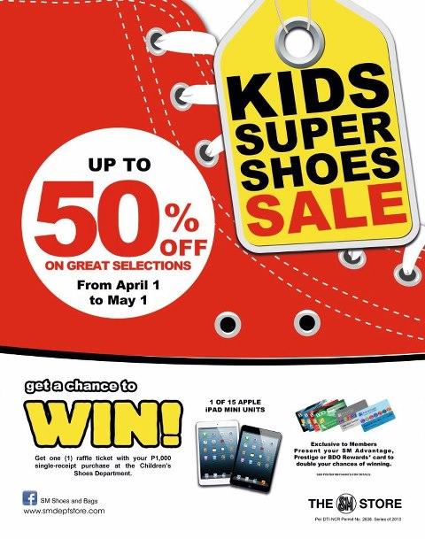 Kids Super Shoe Sale April - May 2013