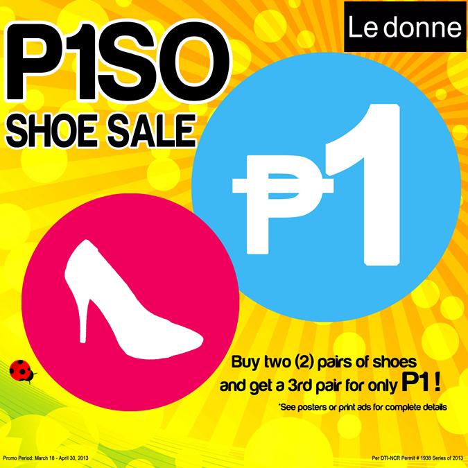 Le Donne P1SO Sale April 2013
