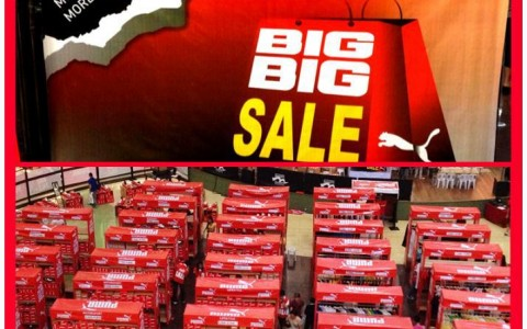 Puma Big Big Sale @ Market Market April - May 2013