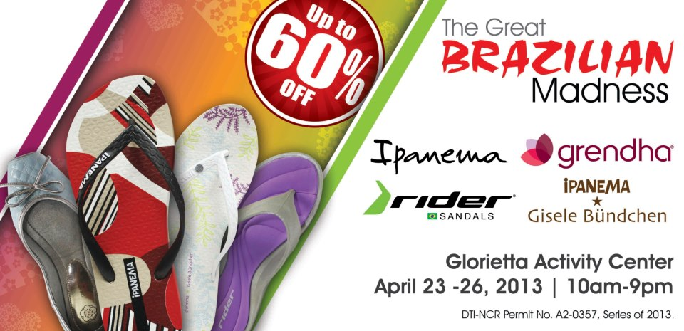The Great Brazilian Madness Sale @ Glorietta Activity Center April 2013