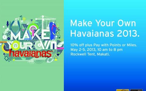 Citibank at Make Your Own Havaianas May 2013