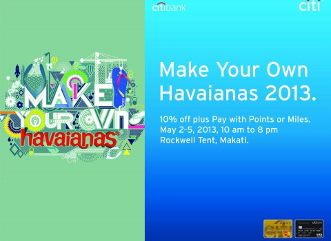 Citibank at Make Your Own Havaianas May 2013