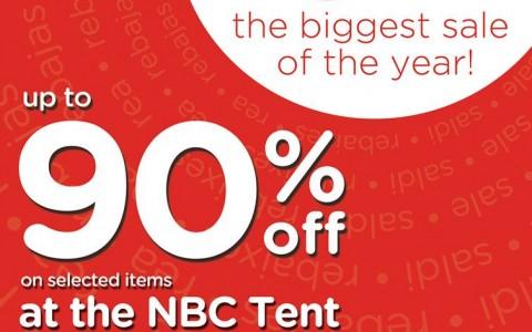 Crocs Megasale @ NBC Tent May - June 2013