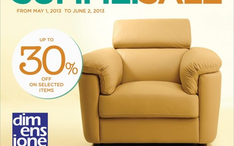 Dimensione Summer Sale May - June 2013
