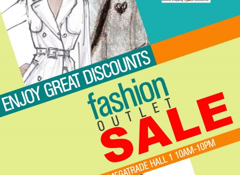 Fashion Outlet Sale @ SM Megatrade Hall May - June 2013